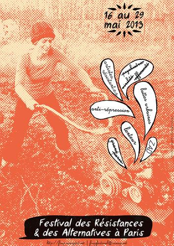 Festival des résistances & des alternatives AFFICHEFRAP2